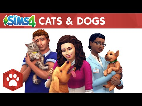 The Sims 4 Cats & Dogs: Official Reveal Trailer thumbnail