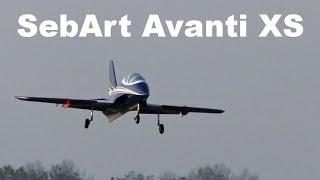 SebArt Avanti XS, EDF RC aircraft, 2018