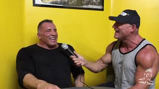 I LOST EVERYTHING!-Milos Sarcev tells ALL on Muscle Beach TV part1