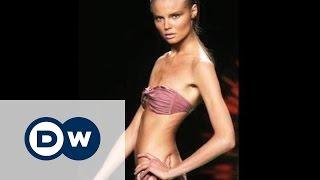 Самые худые девушки изгнаны из мира моды во Франции