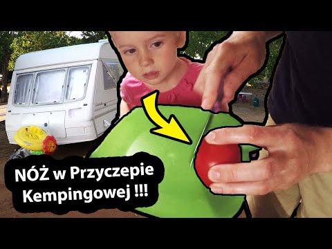 """Tępy Nóż w Przyczepie Kempingowej !!! - Czy Przejdzie """"TEST Pomidora""""? (Vlog #300)"""