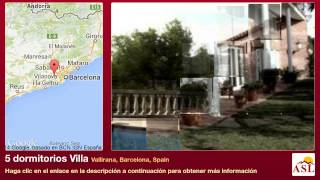 preview picture of video '5 dormitorios Villa se Vende en Vallirana, Barcelona, Spain'