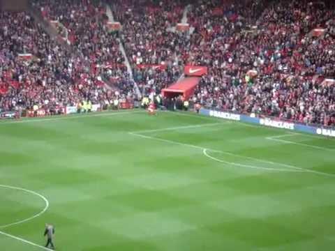 Man Utd v Sunderland Entrance