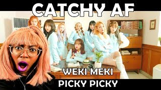 WEKI MEKI (위키미키) PICKY PICKY MV REACTION + REVIEW || CATCHY AF
