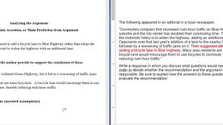 GRE Argument Essay Step-by-step Guide and Example