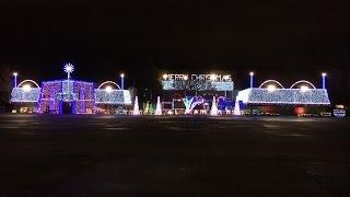 Cadger Dubstep Christmas Light Show 2014 - FULL SHOW