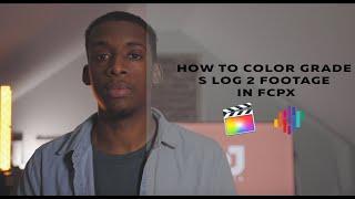Color Grade SLOG 2 Footage In Final Cut Pro X (4 FREE LUTS)