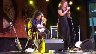 "Bela Fleck and Abigail Washburn- ""His Eye is on the Sparrow"" @ Magnolia Fest (Live Oak, FL) 10/18/14"