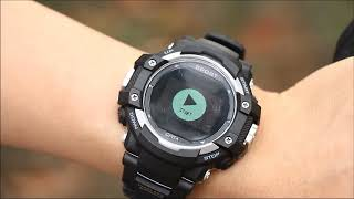 NO.1 F7 GPS Outdoor Sport Rugged Smartwatch Functions Display