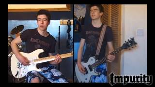 Packaged Rebellion (Anthrax) - Guitar Cover (improvised solo)