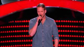 The Voice S9 Barrett Baber's Angel Eyes