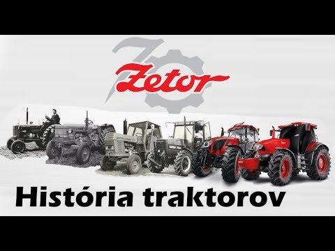 História traktorov Zetor  1946-2016   CZ /SK