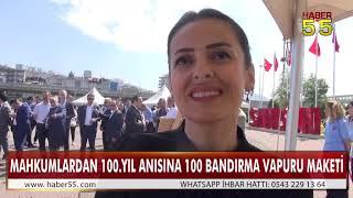 100.YIL ANISINA 100 BANDIRMA VAPURU MAKETİ