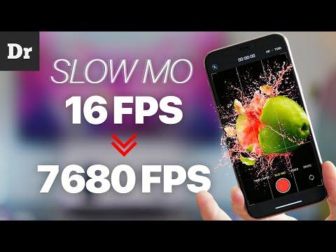 Как НЕЙРОСЕТИ делают из 16FPS - 7680FPS? | SUPER Slowmo на iPhone