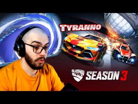 🚀NUOVA STAGIONE & ROCKET PASS 3!🚀: Proviamo la Tyranno & Premi Tornei Season 3 | Rocket League ITA