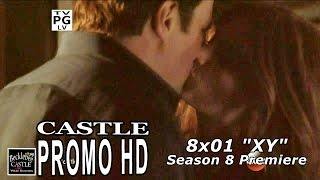 "Castle saison 8 promo #2 "" Castle and Beckett are back """
