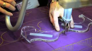 Quilting With Longarm Templates On An Innova