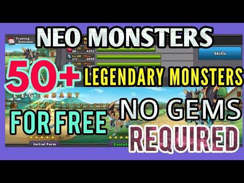 neo monsters mod apk 2.2.1