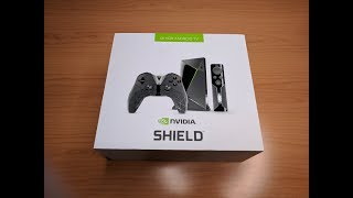 NVIDIA Shield TV 2017 Unboxing and Play
