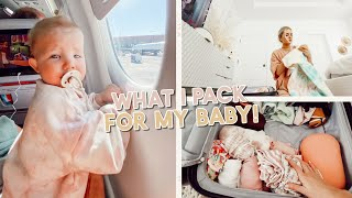 packing for vacation + what i bring for my one year old baby!! by Aspyn + Parker
