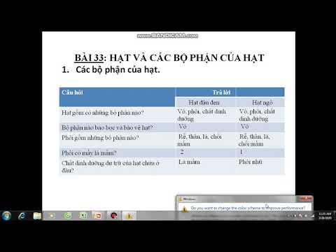 Ôn tập Sinh học 7 (Bài 33,34)- cô Vui
