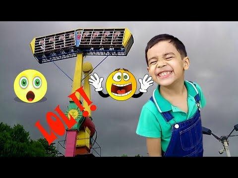Best Outdoor Playgrounds for kids Amusement park Funny Playtime with Sams Family