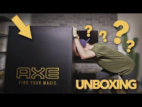 Prišiel mi veľký balík od AXE! - Teaser