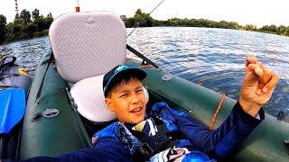 Жизнь удалась: плаваю на каяке! Жру бутеры! Рыбачу! 👍 Глебус на рыбалке