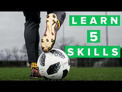 5 cool football skills for training   Impress your coach and teammates ...