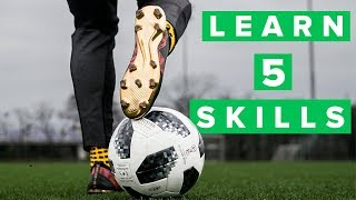 5 cool football skills for training | Impress your coach and teammates