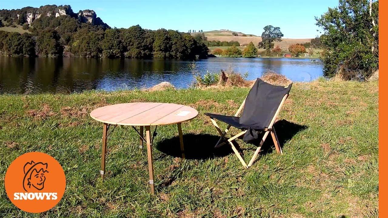 Kitpac Round Camp Table