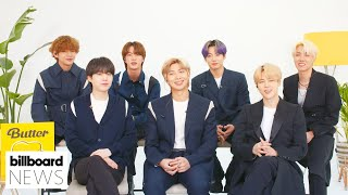 BTS Talks About Their Latest Single 'Butter,' #BBMAs, Louis Vuitton & McDonald's  I Billboard News