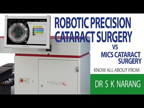 Robotic Precision Laser Cataract Surgery Vs MICS Phaco Surgery