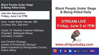 Black People Under Siege