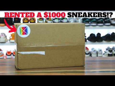 I RENTED $1000 SNEAKERS?! This Is What Happened…