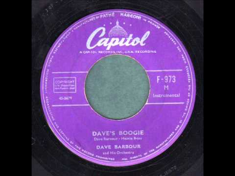 Dave Barbour & his Orchestra ? Dave's Boogie ? online metal music video by DAVE BARBOUR