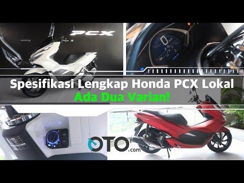 Spesifikasi Lengkap Honda PCX Lokal, Ada Dua Varian! I OTO.com