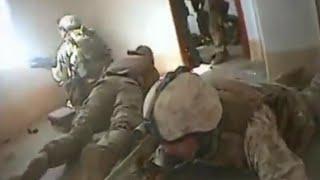 Sniper Starts Firefight In Ramadi, Iraq (US Marine Vs Insurgents) RAW Footage