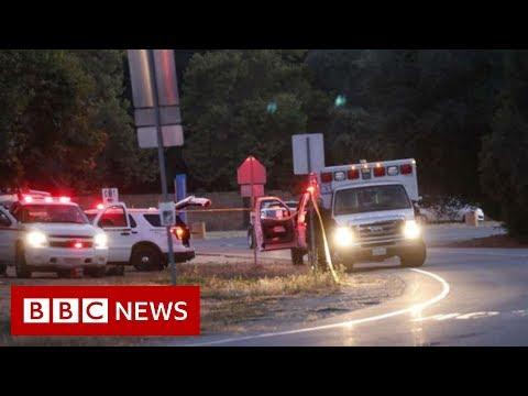 Garlic festival shooting: Three dead in Gilroy California - BBC News