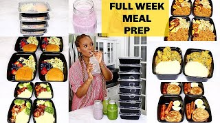 1 WEEK FAMILY MEAL PREP IDEAS : WHAT WE EAT IN A WEEK (FAMILY MEAL INSPO) | OMABELLETV