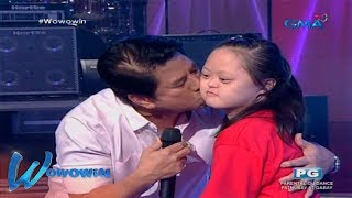 Wowowin: Batang May Down Syndrome, Pinasaya Ni Kuya Wil