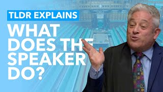 What is the Role of the Speaker? - TLDR Explains