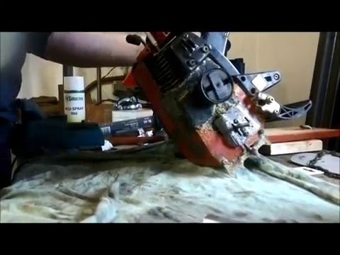 Motorsäge Kettensäge Kupplung ausbauen