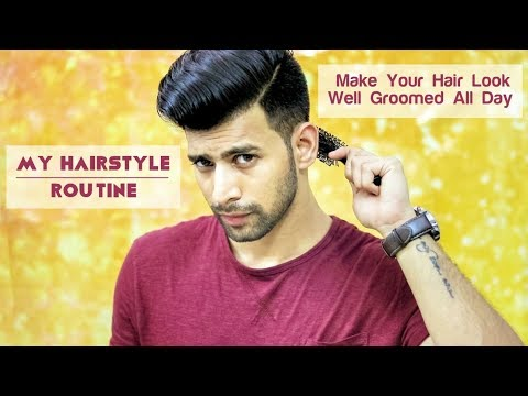 My Hairstyle Routine