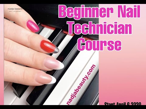 Beginner Nail Technician Course - Perfect Salon Nail - YouTube