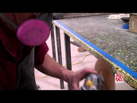 Video: The Basics of Fabricating Recycled Glass Slabs