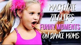 Mackenzie Zieglers Funny Moments On Dance Moms
