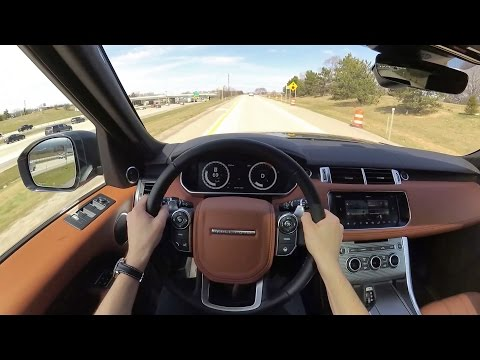 2017 Range Rover Sport V8 Supercharged Autobiography - POV First Impressions (Binaural Audio)
