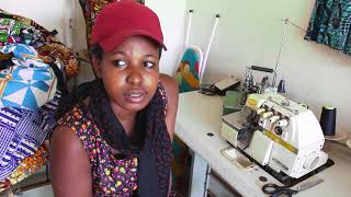 Veronica – Tailoring and Fashion Design Program Graduate – Yimba Uganda
