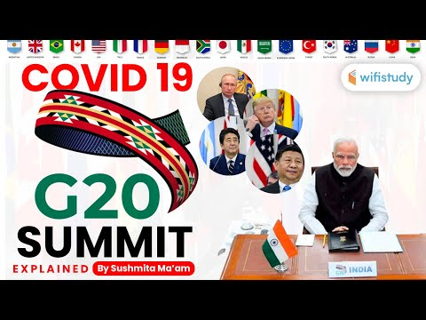 G20   2020 | Current Issues by Sushmita Ma'am